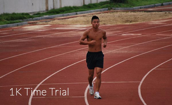 1 KM Time Trial Fitness Test