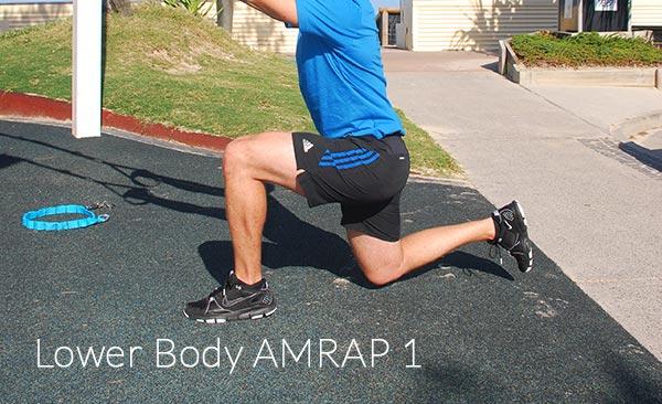 Lower Body Amrap 1