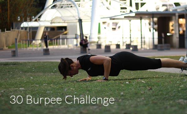 The 30 Burpee Challenge